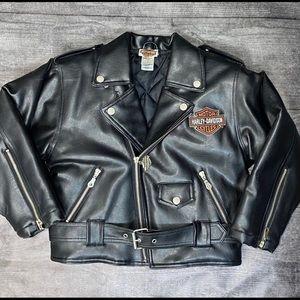 Child's Harley-Davidson faux leather jacket